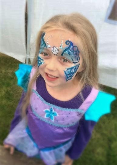 A beautiful mermaid!