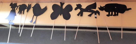 Gramp shadow puppets