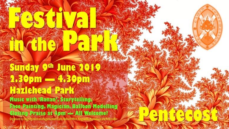 Festival in the Park 2019 - Cragiebuckler Church